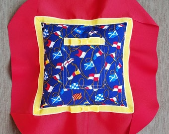 "Red, Yellow, and Blue Tooth Fairy Pillow---""William"""