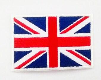Union Jack Flag /Flag of the United Kingdom Patch.