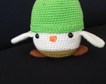 Charli the little chick crochet amigurumi plush