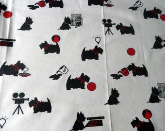 "fabric ""dog dinner"" cotton"