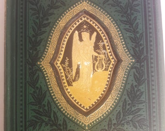 Out of Print Gleanings from the Poets c 1908 544 Pages Green