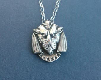 Sterling Silver Egyptian Cat necklace