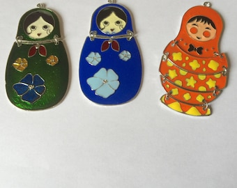 Russian doll: enamel