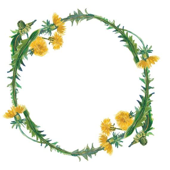watercolor dandelion clipart dandelion arrangement clipart rh etsy com Wheat Clip Art Transparent Lavender