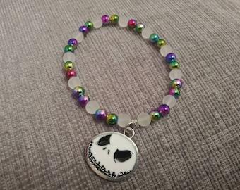 Jack Skellington inspired bracelet
