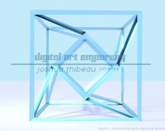 Tesseract Desktop Wallpaper