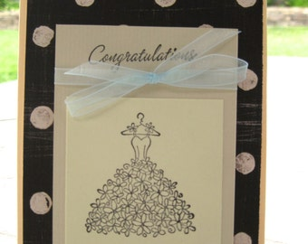 Congratulations Wedding Shower Card
