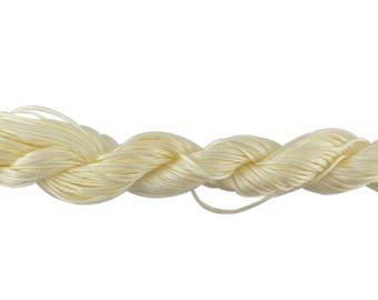 Ivory nylon string 22 ideal shamballa