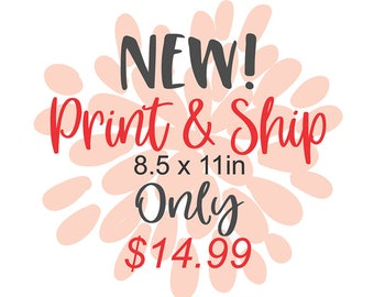 SVG Originals LLC Print and Ship Service!