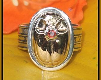 Tabra Scarab Ring ER1001