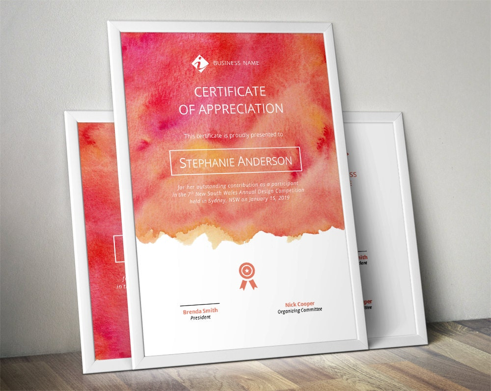 Awesome Creative Certificate Designs Intended Creative Certificate Designs