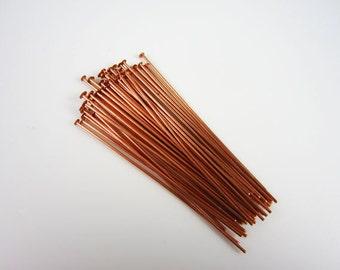 50 Tierracast Copper Headpins