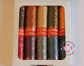 Aurifil 50 wt - Scone thread Collection - Sale Price