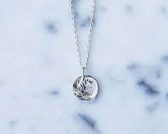 Lycaon Sterling Silver Wolf Necklace