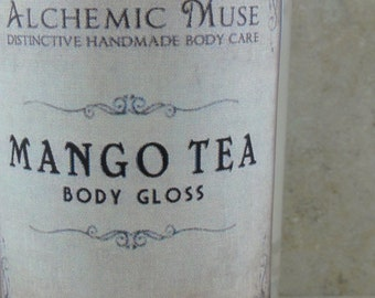 Mango Tea - Body Gloss - Fresh Mango, Sweet Tea, Vanilla Bean - Limited Edition