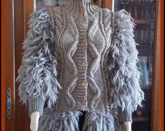 Jacket woman ANNY BLATT KINA long T 36/38