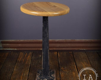 stool vintage fountain soda