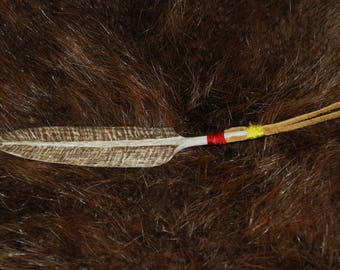 Elk Antler Feather