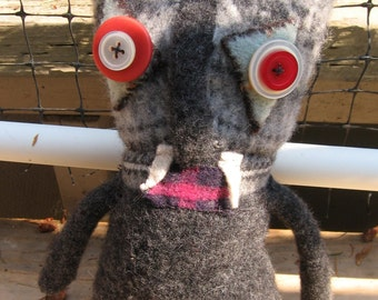 Simon-recycled sweater doll