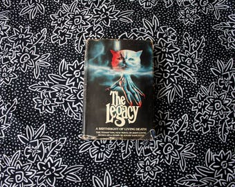 The Legacy By John Coyne. 1979 First Edition Book Club Edition Hardcover Book. Classic Occult Supernatural Horror