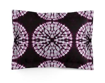 Magenta Tie Dye Bedding - Pillow Sham - Tie Dye Bedding - Bohemian Decor King or Standard Shams for Girls Bedroom Bedspread for Teens Room