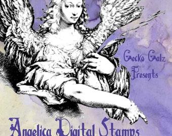 Angelica Digital Stamp Set