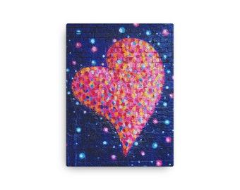 I Heart U - Canvas