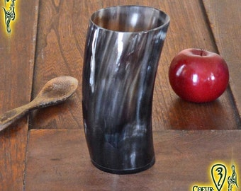 Drinking Horn Cup 300ml black