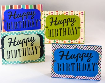 Handmade Bday cards|Birthday cards|Greeting card|birthday gift for him|birthday card for mom|Colorful birthday card|Birthday gifts