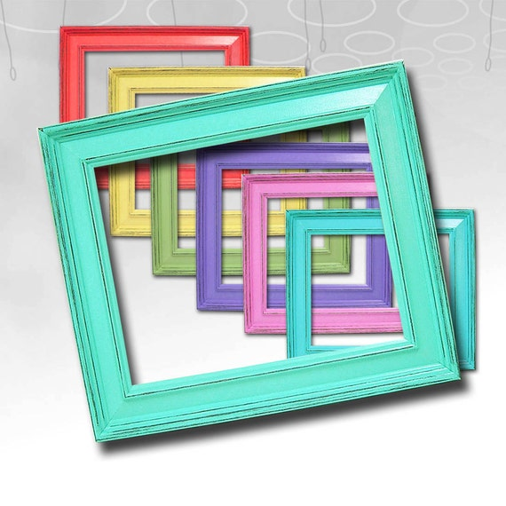 Rustic Picture Frame Shabby Chic Picture Frames Wedding
