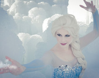 8x12 Snow Queen Inspired Photo Print (Traci Hines)