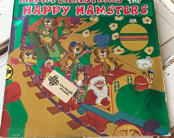 Ugly Sweater Party Gift 1980's Hamster Christmas Album
