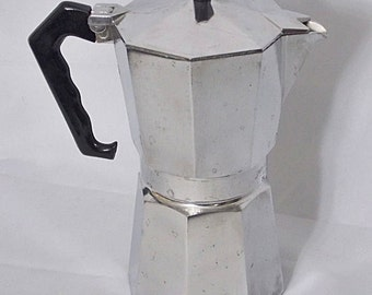 Junior Caffettiera 9 Italian Espresso Maker Coffee Pot Boxed