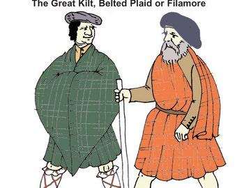RH306 - Great Kilt Pattern