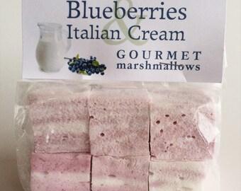 Blueberries & Italian Cream Gourmet Marshmallows *Naturally Gluten Free!*