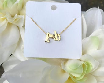 Signature Collection Dainty Initial Necklace