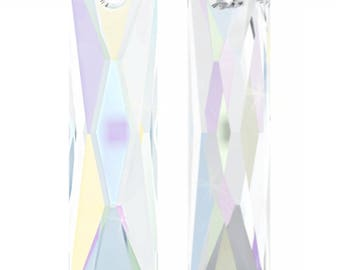 Swarovski 6465 - Queen Baguette Crystal Pendant