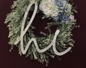 Rustic Spring and Summer Wreath