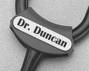 Littmann Stethoscope Id Tag, Personalized Stethoscope Id Tag, Nurses id Tag, Rn Id Tag, Id Tag for Stethoscope , Stethoscope ID Tag Vet Tech