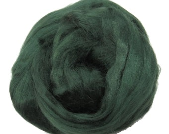 Viscose Fiber for felting ,spinning, paper making and art batts . color: Fir