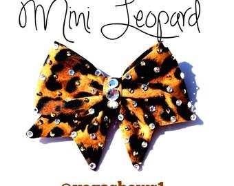 Mini Leopard Bow