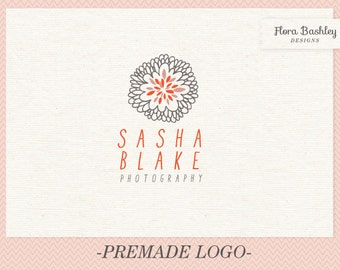 Custom Logo Design, Premade Logo Design, Original Logo, Floral logo, Unique Logo, Flower Logo, Business Logos, Pre-made Logo - FB036