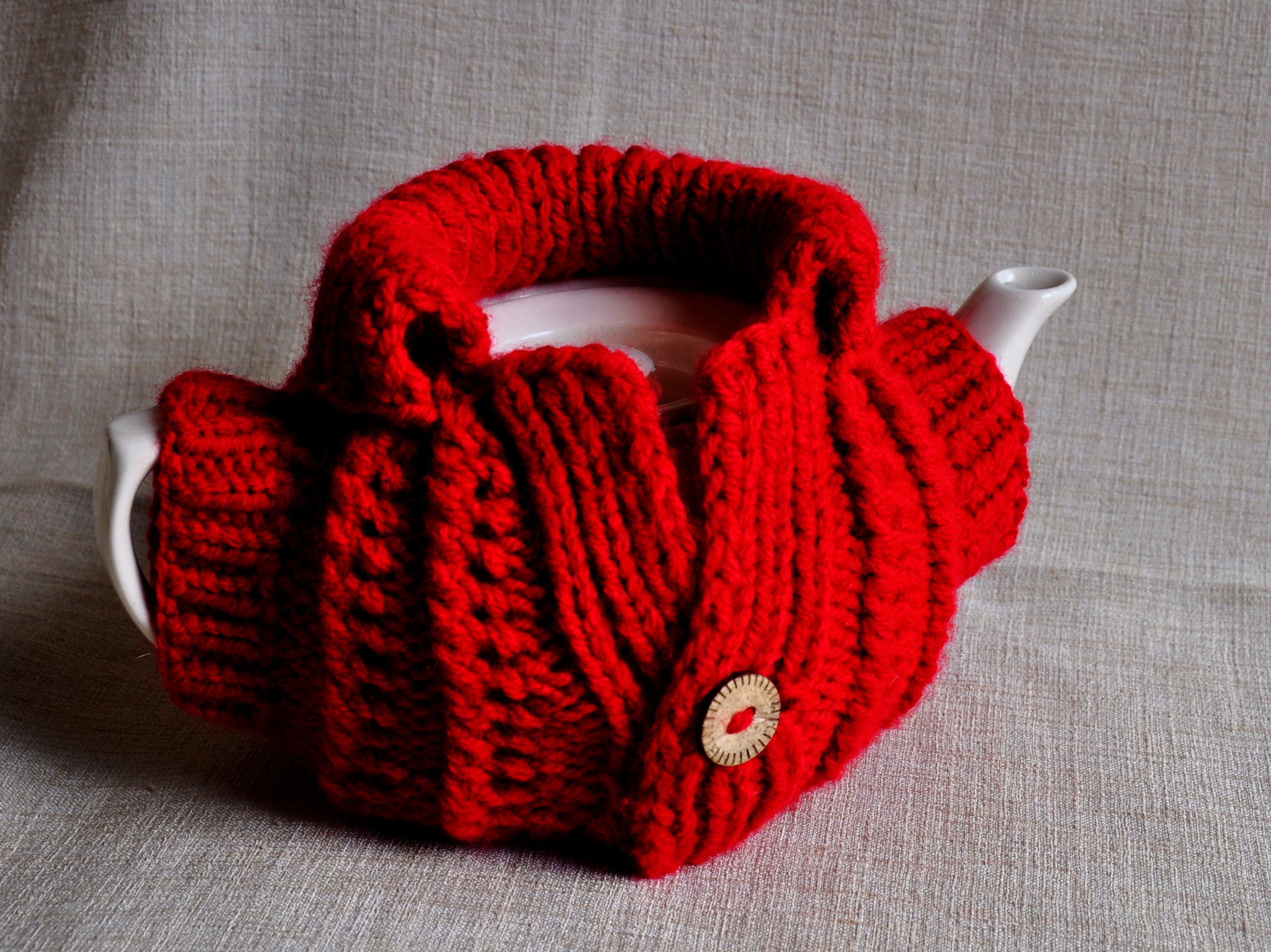 Teapot cover pattern teacher gift Moving in gift super knitted
