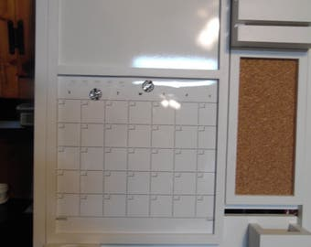 All In One Command Center/Kitchen organizer/ Magnetic Calendar/ Message Center /Office Decor /Magazine Holder/Family Message Board