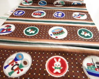 Kids kimono, kimono fabric silk fabric, Japan, kimono, antique / vintage. Decorative fabric