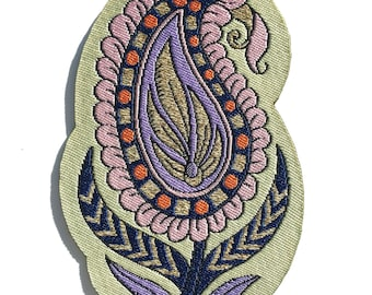 Paisley Iron-on Patch