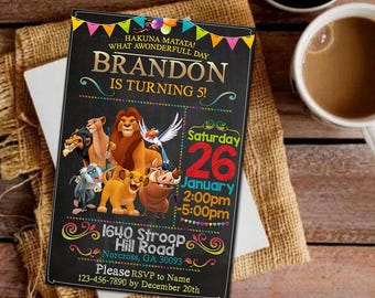 Lion King Party Package Lion King Birthday Party Lion King