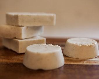 Homemade Honey Oatmeal Goat Milk Soap