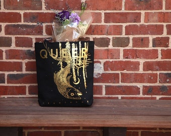 Queer Heartache Gold Foil Totebag