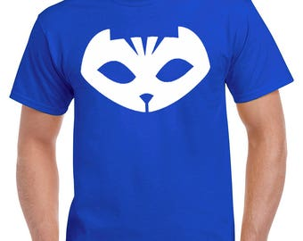 Pj Masks, Pj Masks Shirt, Pj Masks Tshirt, Disney Pj Masks, Catboy, Birthday Shirt, Pj Masks Adult Shirt, Pj Masks Family Shirt